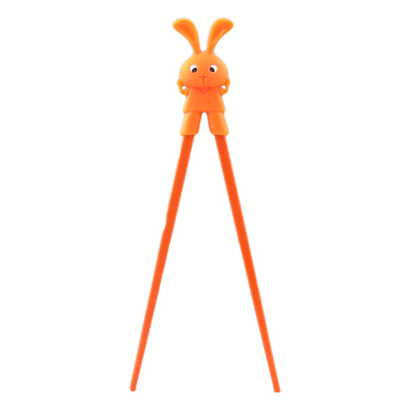 Kids Chopstick Rabbit , Orange