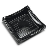 "Sushi To-Go Container 7-1/4"" Square (50pc)w/Lid"
