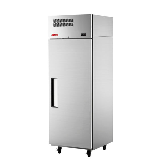 Turbo Air E-line Reach-in Freezer, Solid Door, 1 Section, 25