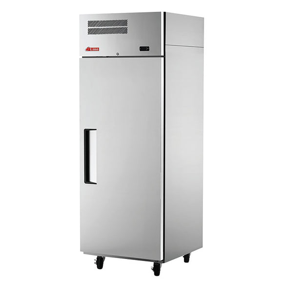 Turbo Air E-line Reach-in Freezer, Solid Door, 1 Section, 28