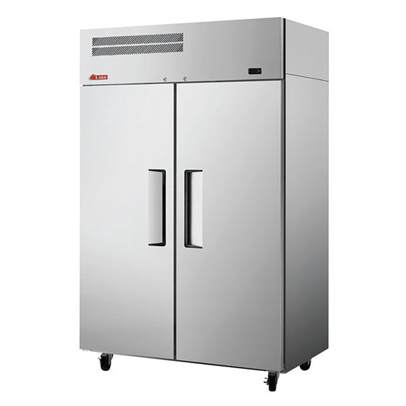 Turbo Air E-line Reach-in Freezer, Solid Door, 2 Section, 51