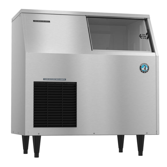 Hoshizaki Flaker Ice Maker F-300BAJ, Air-cooled, Built in Storage Bin, 36″W