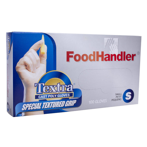 Plastic Disposable Gloves 100pc Small
