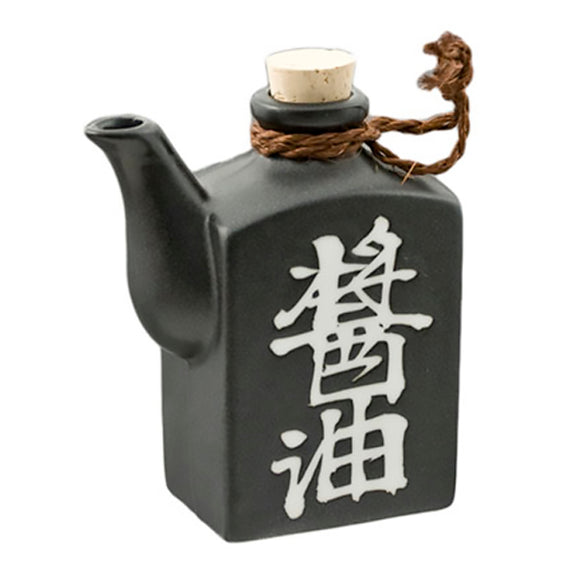 Soy Sauce Dispenser 9oz, Black
