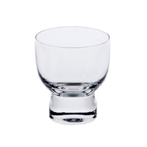 "Clear Glass Sake Cup 2.25""Dx2.5""H"