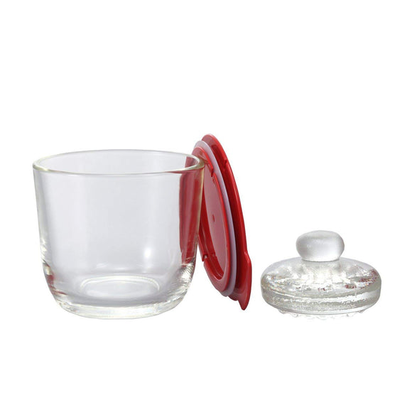 HARIO Glass Pickle Maker 500ml, Red