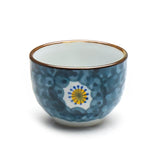 "Blue Pattern Sake Cup 2""D, Assorted Pattern"