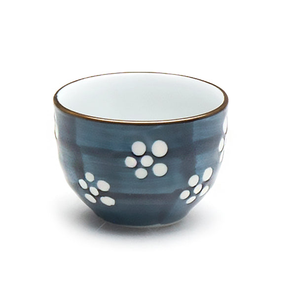 Blue Pattern Sake Cup 2