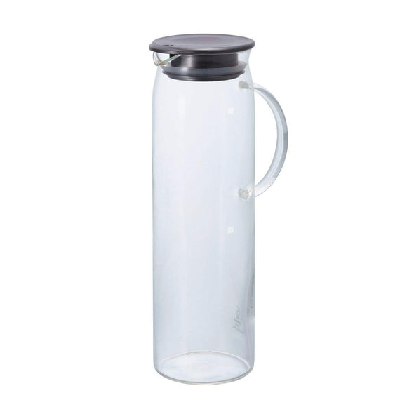 HARIO Handy Glass Picher 1000ml, Pearl Gray