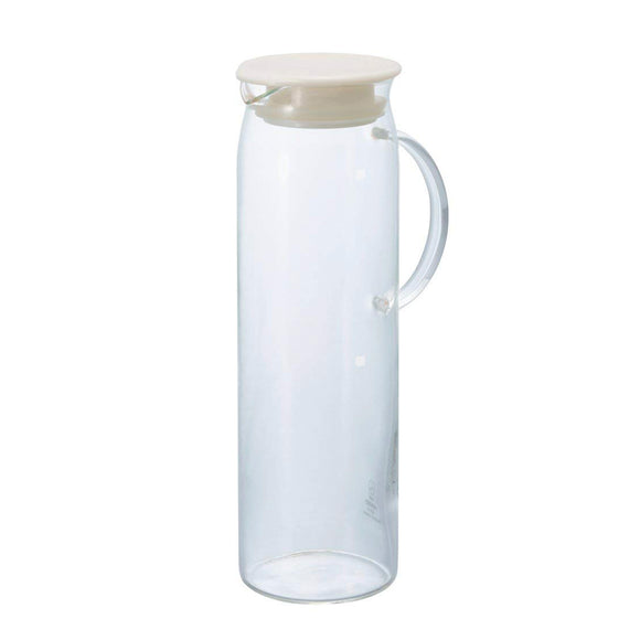 HARIO Handy Glass Picher 1000ml, Pearl White