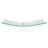 Square Glass Plate 11""