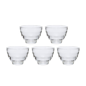 HARIO Glass Tea Cup 5 pc Set