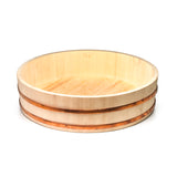 "Wooden Sushi Rice Container (26""D x 7""H)"