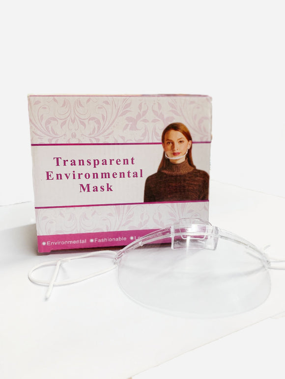 Transparent Environmental Mask (10 PCS)