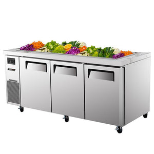 "Turbo Air J Series Buffet Table, 3 Section, 15 Pans, 70""W"