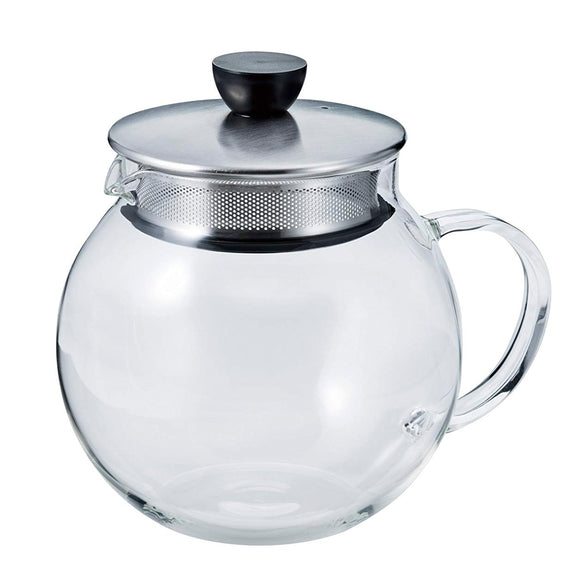 HARIO Jumping Glass Leaf Pot 600ml