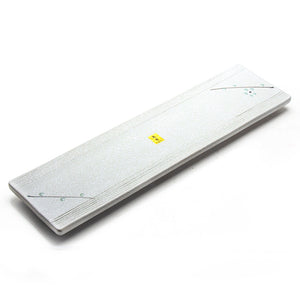 "Rectangular Platter 18.5"", White Sakura"