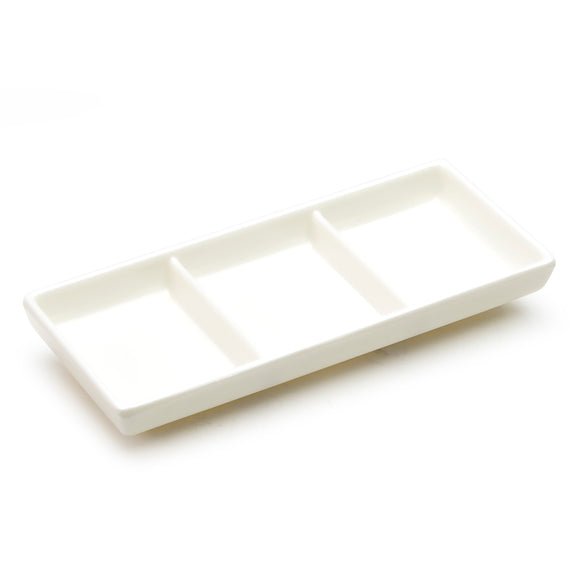 Melamine 3-Compartment Plate 7.5