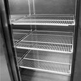 "Turbo Air M3 Reach-in Refrigerator, Solid Door, 1 Section, 24""W"