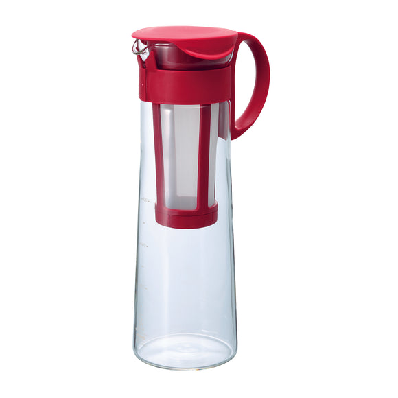 HARIO Mizudashi Cold Brew Coffee Pot 1000ml, Red