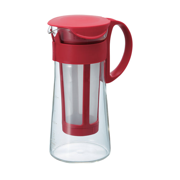 HARIO Mizudashi Cold Brew Coffee Pot 600ml, Red