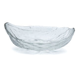 Glass Oval Bowl 7.25""