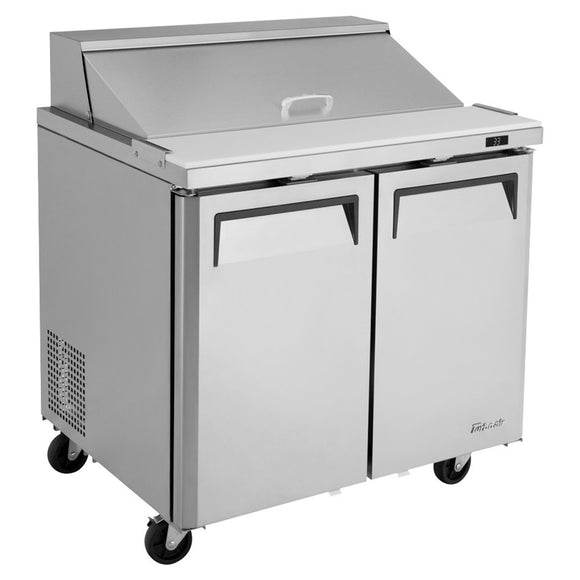 Turbo Air M3 Sandwich/Salad Unit, 2 Section, 10 Pans, 36