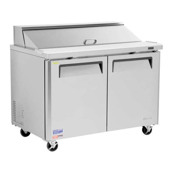 Turbo Air M3 Sandwich/Salad Unit, 2 Section, 18 Pans, 48