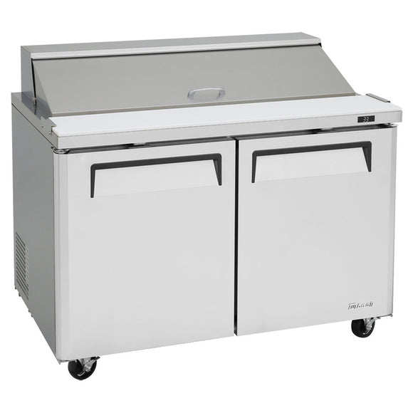 Turbo Air M3 Sandwich/Salad Unit, 2 Section, 12 Pans, 48