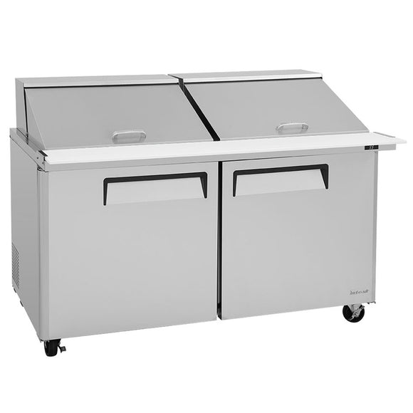 Turbo Air M3 Sandwich/Salad Unit, 2 Section, 24 Pans, 60