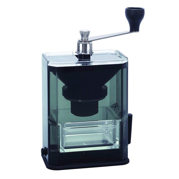 HARIO Ceramic Coffee Grinder w/ Acrylic Box