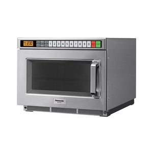 Panasonic Commercial Microwave Oven with 60 Programmable Memory Pad, 2100W