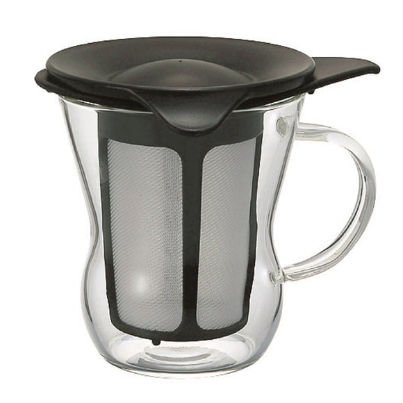 HARIO One Cup Tea Maker 200ml, Black