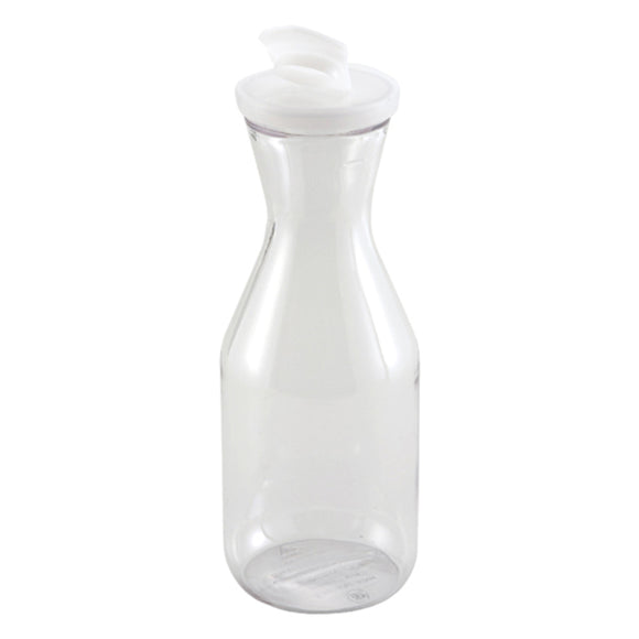 Decanters 1Liter W/Lid Polycarboate