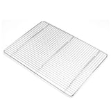 "Footed Pan Grate 12""x16"" Half Size Bun Pan"