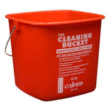 Cleaning Bucket Red Sanitizing 6Qt