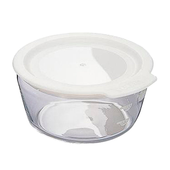 HARIO Round Glass Container 300ml