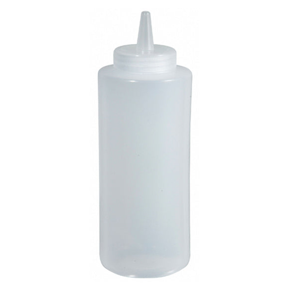 Squeeze Bottle 8Oz, Clear