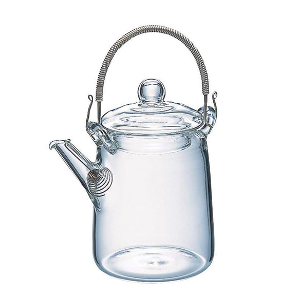 HARIO Cylindrical Glass Teapot 220ml