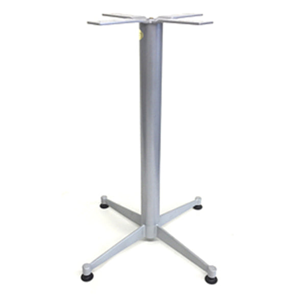 Table Base Cross 22*22 Steel Base Gray 28
