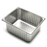 "1/2 Size Anti Jam Pan 6"" Deep Perforat"
