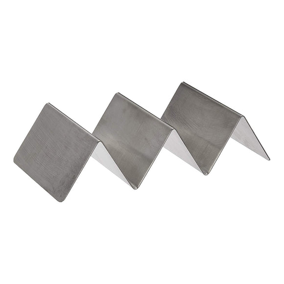 Taco Holder 2-3 Slots Stainless Steel