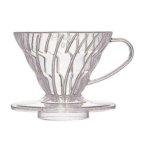 HARIO V60 Coffee Dripper 01, Transparent