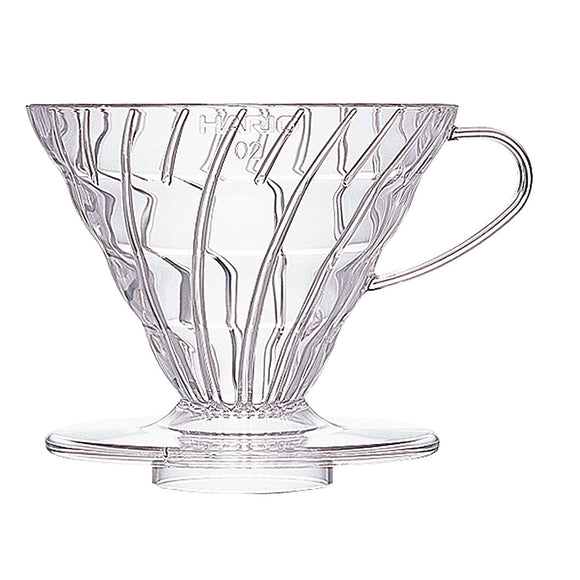 HARIO V60 Coffee Dripper 02, Transparent