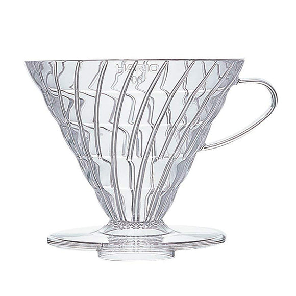 HARIO V60 Coffee Dripper 03, Transparent