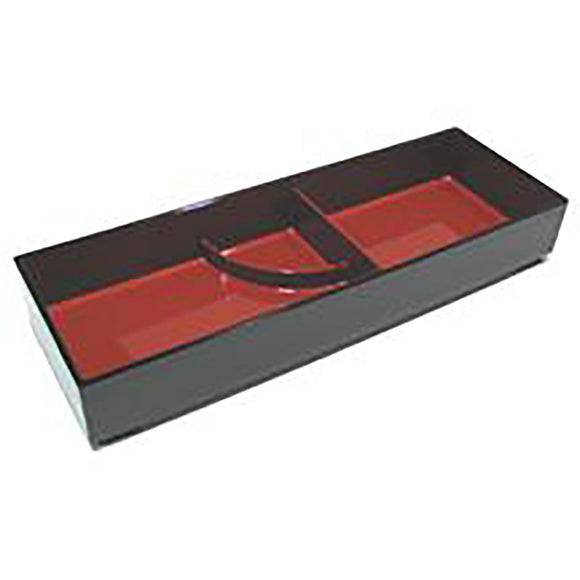 Lacquer Lunch Box 14-1/4 X 4 7/8 X 2-1/4