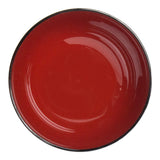 "Lacquer Miso Soup Bowl 4.5"", Black/Red - Kikko"