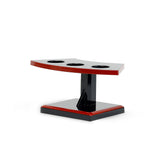 Lacquered Handroll Stand For 3 pcs, Black