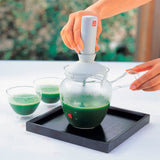 HARIO Glass Matcha Green Tea Latte Set