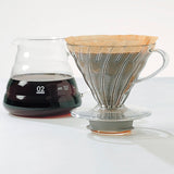 "HARIO V60 ""Clear"" Glass Coffee Range Server 800ml"
